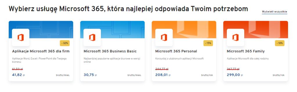 Jak zamówić pakiet biurowy Office 365 w AZ.pl?