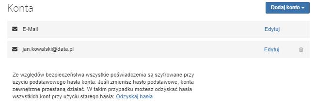 Jak włączyć obsługę zewnętrznego konta e-mail, np. Gmail na koncie pocztowym w AZ.pl?
