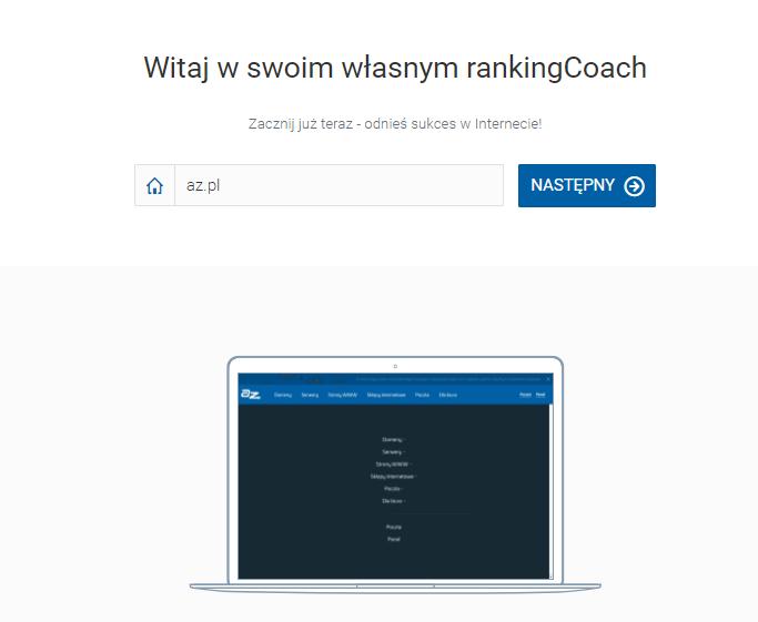 Oprogramowanie SEO rankingCoach – Jak rozpocząć optymalizację strony WWW?