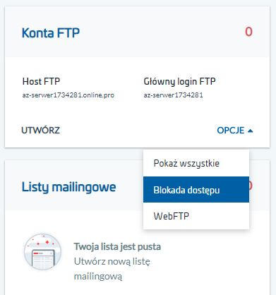 Anonimowy serwer FTP – anonymous FTP