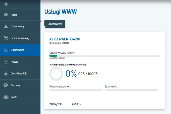 Blokada serwera FTP na hostingu w AZ.pl