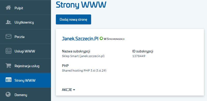 Jak szybko zarejestrować nową usługę w panelu klienta AZ.pl?