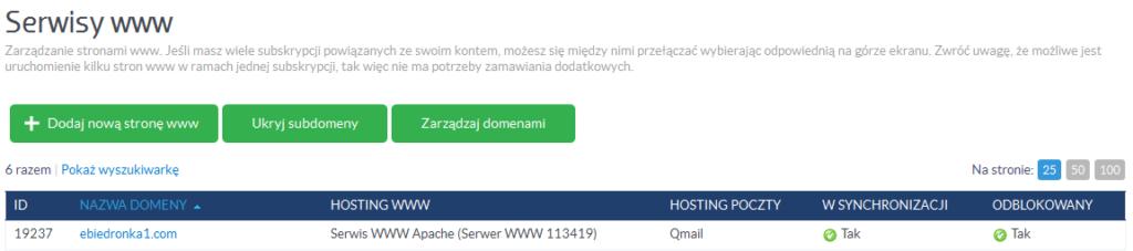 Jak zmienić główny login i hasło FTP do serwisu WWW?