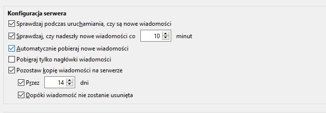 Protokół POP3 a pozostawienie kopii zapasowej na serwerze